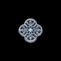 Square Mandala (silver)