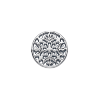 Round Mandala (silver)