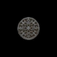 Square Mandala (gun metal)